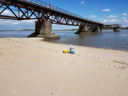 Laufanfänger im Sand