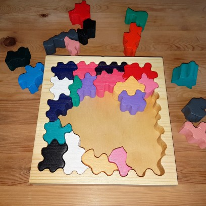 Schweres Puzzle!