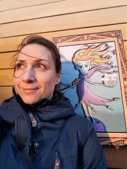 Seegrastine und ich - Ähnlichkeit ist doch da, oder
